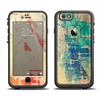 The Grunge Multicolor Textured Surface Apple iPhone 6/6s Plus LifeProof Fre Case Skin Set