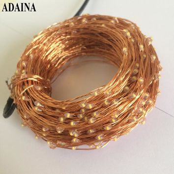 Remote Dimmer 30M 300 LED Lights Copper Wire String Light Outdoor Fairy Lamp For Garden Wedding Christmas Decorations For Home
