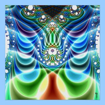 Extra-dimensional Undulations V 3  Poster from Zazzle.com