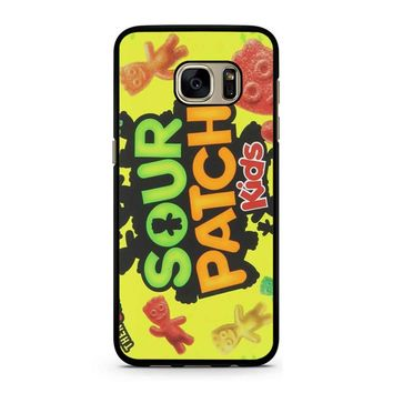 Sour Patch Kids Candy Package Front Samsung Galaxy S7 Case