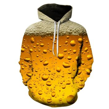 New fashion 3D printing hoodies beer /Dragon Ball /Tokyo Ghoul and other series men / women autumn and winter sweatshirt hoodies