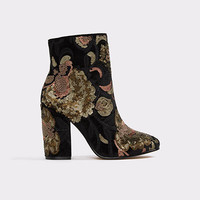Fiery Black Multi Women's Ankle boots | ALDO US