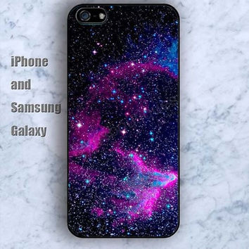 Starry sky colorful dream iPhone 5/5S Ipod touch Silicone Rubber Case, Phone cover