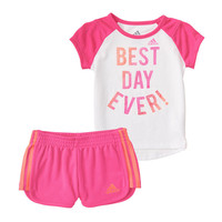 adidas 2-pc. Short Set Baby Girls - JCPenney