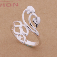 Jewelry New Arrival Gift Shiny Stylish 925 Silver Fashion Luxury Accessory Ring [6045394753]