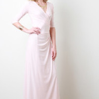 Women's Maxi Wrap Dress
