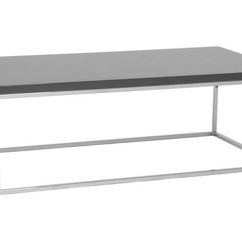 Teresa Rectangular Coffee Table, Gray, Sofa Table