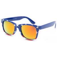 Blue Crown Americana Classic Sunglasses Red/White/Blue One Size For Men 25388994801