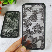 Sexy Black Lace Iphone 6 S plus Cases