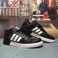 """Adidas"" Fashion Casual Multicolor Breathable Unisex Sneakers Couple Plate Shoes"