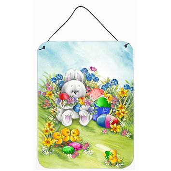 Easter Bunny and Eggs Wall or Door Hanging Prints APH5528DS1216