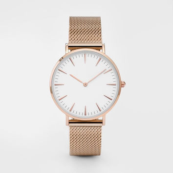 Great Deal Trendy Good Price New Arrival Gift Awesome Designer's Dial Hot Sale Ladies Stylish Stainless Steel Band Watch [10755383631]