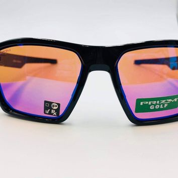 Oakley New Sunglasses Targetline OO9397-0558 Polished Black Prizm Golf SEE PIC