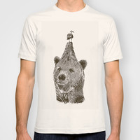 Bear T-shirt by Galen Valle