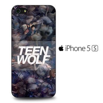 Teen Wolf Sesion 5 iPhone 5S Case