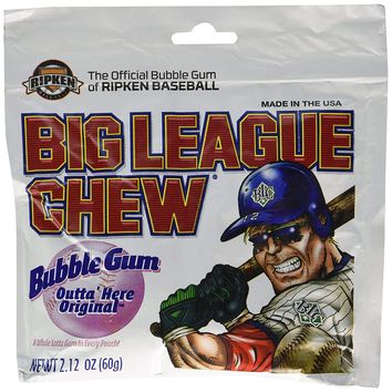 Big League Chew Shredded Bubble Gum (Original Flavor)