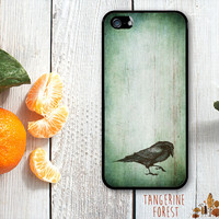 Dark, Grunge Raven Case. iPhone 4 // 4s // 5 // 5s // 5c