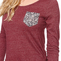 LA Hearts Ditsy Pocket Top at PacSun.com