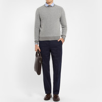 Canali - Diamond-Patterned Cashmere Sweater | MR PORTER