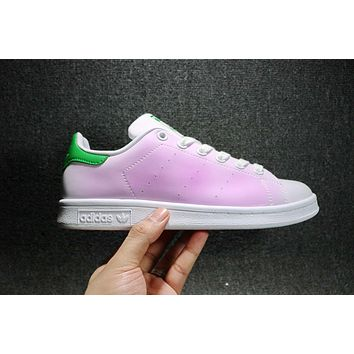 Adidas Sup Stan Smith Men Women DIY Sneakers Fashion Discolor Shoes