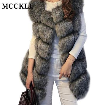 """Beverly Hills - Style"" Furry Vest / Coat"