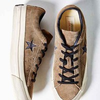 Converse By John Varvatos One Star Suede Low-Top Sneaker- Khaki