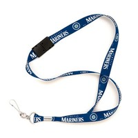 Seattle Mariners Navy Blue MLB Event Lanyard