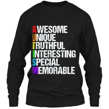 Awesome Autism T-Shirt LS Ultra Cotton Tshirt