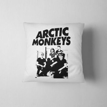 "Arctic Monkeys Band Pillow Case 16""X16"" 18""X18"" 20""X20"" Inches"
