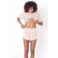 Super-stretch Sleep Short - Blush
