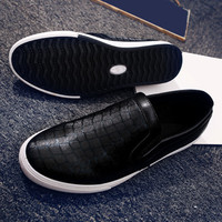 Low Top Slip-on Loafer Sneakers Shoes