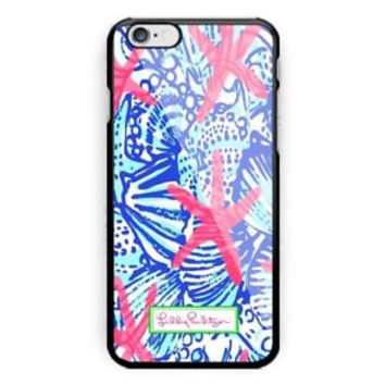 Best Summer Lilly Pulitzer Blue iPhone 7 and 7 Plus Hard Plastic Case