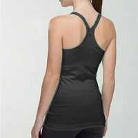 Lululemon Casual Gym Yoga Sport Running Vest Tank Top Cami
