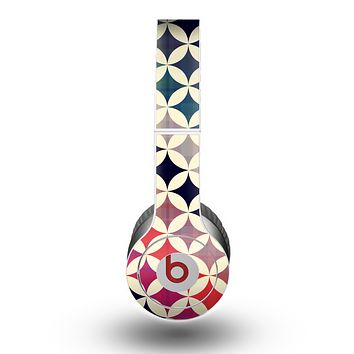 The Overlapping Retro Circles Skin for the Beats by Dre Original Solo-Solo HD Headphones