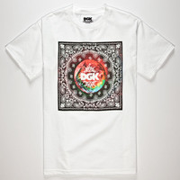 Dgk Trippy World Mens T-Shirt White  In Sizes
