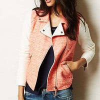 Blushed Tweed Moto Jacket
