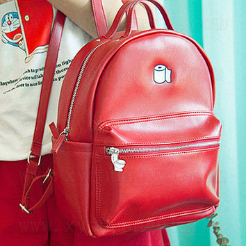 On Sale Hot Deal Casual Back To School Stylish College Comfort Embroidery Backpack [4918674628]