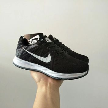 """Nike"" Unisex Sport Casual Fashion Multicolor Flyknit Sneakers Couple Running Shoes"