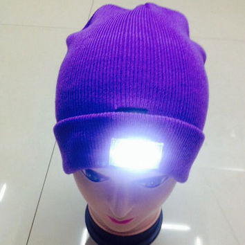 LED Winter Beanies - Winter Spring Lover Hat Keep Warm Cap - Must have for the Winter - Christmas Gift