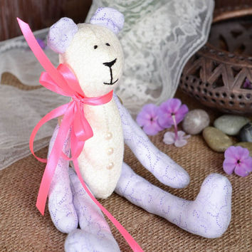 Toy bear handmade toys soft toys table bedroom decor gift ideas for girls