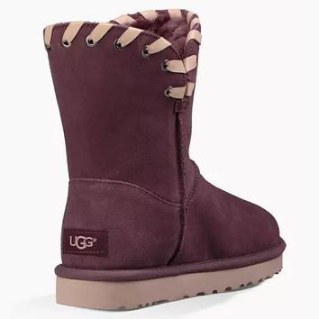 UGG Women Fur Winter Half Boots Shoes