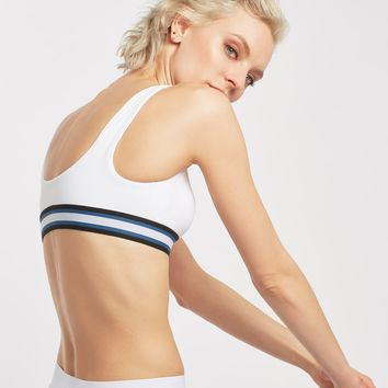 Michi Principal Bra - White/Stripe