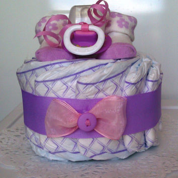 Baby Princess Diaper Cake