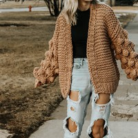 Bubble Sweater (Camel)