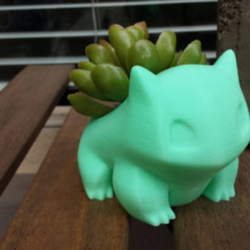 Mini Bulbasaur Pokemon Planter