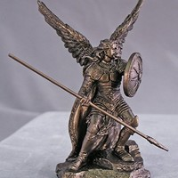RELIGIOUS STATUE, Archangel Raphael from the Veronese Collection, 4inches