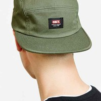 OBEY Sarge 5-Panel Hat- Olive One