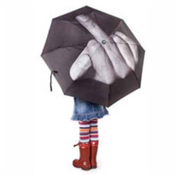 Fuck the Rain Umbrella | Cool Material