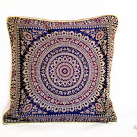 Decorative Throw Pillow Cover - Pillow Slip Cover - Cushion Cover - retro pillow cover - Square Pillow Covers - livingroom pillow - bohemian