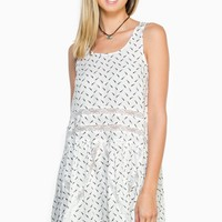 ShopSosie Style : Light As A Feather Dress in Ivory